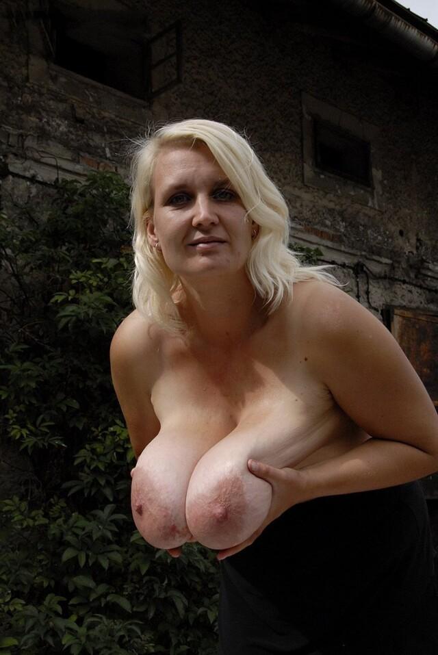 Mature bib tits