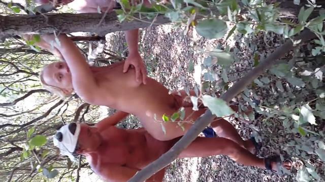 жена в лесу.mp4 (Домашнее/Любительское) - скачать на мобильный телефон